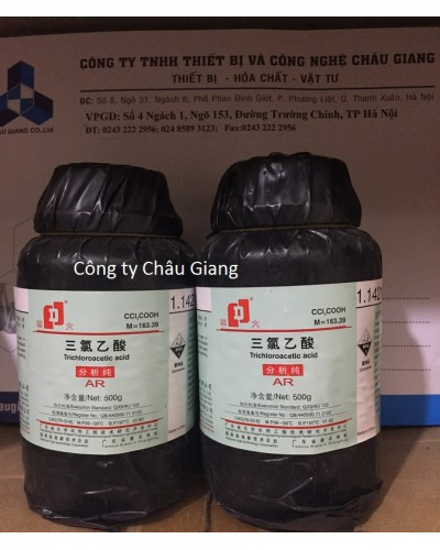 Trichloroacetic acid CCl3COOH